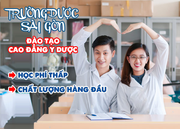 Đào tạo cao đẳng y dược Sài Gòn chất lượng, học phí thấp