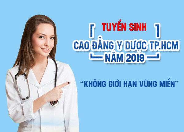 Tuyển sinh cao đẳng y dược Sài Gòn không giới hạn vùng miền