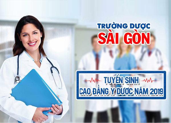 Tuyển sinh đào tạo cao đẳng y dược tại Sài Gòn