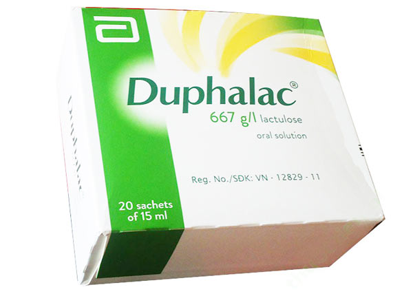 Thuốc Duphalac trị táo bón