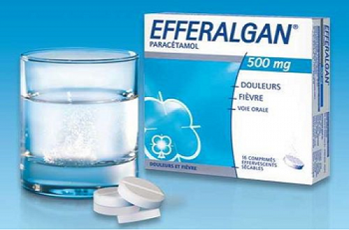 Thuốc giảm đau hạ sốt Efferalgan
