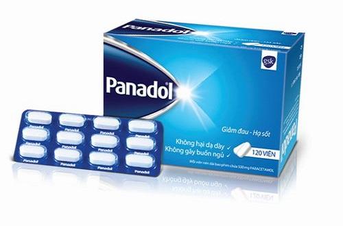 Thuốc giảm đau hạ sốt Panadol