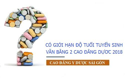 Văn bằng 2 Cao đẳng Dược Sài Gòn tuyển sinh không giới hạn độ tuổi