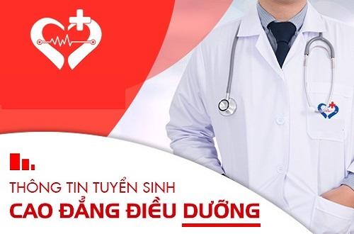 Thông tin tuyển sinh Cao đẳng Điều dưỡng Sài Gòn năm 2019