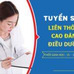 Tuyển sinh Liên thông cao đẳng Điều dưỡng Sài Gòn năm 2019