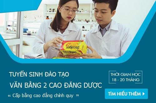 Văn bằng 2 Cao đẳng Dược Sài Gòn đào tạo 18 tháng cấp bằng chính quy