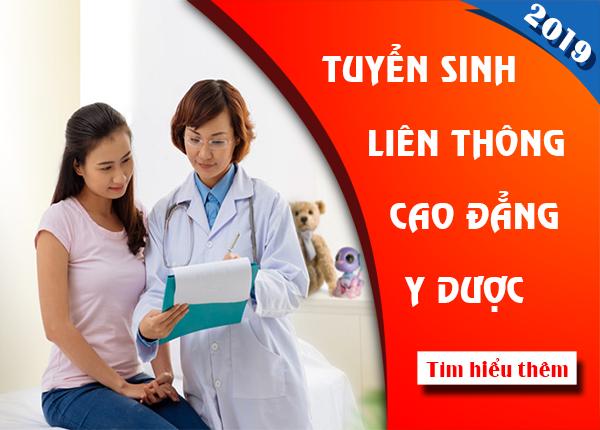 Tuyển sinh liên thông Cao đẳng y dược Sài Gòn năm 2019