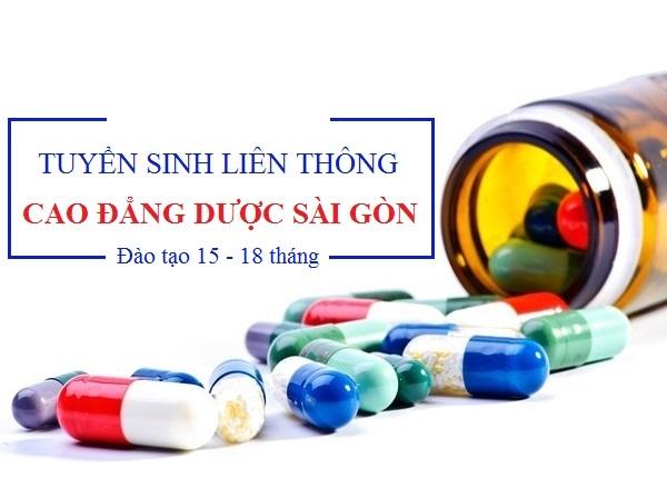Học liên thông cao đẳng dược Sài Gòn năm 2019 trong trong thời gian ngắn hạn