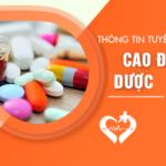 Chỉ tiêu tuyển sinh Cao đẳng Dược Sài Gòn năm 2019