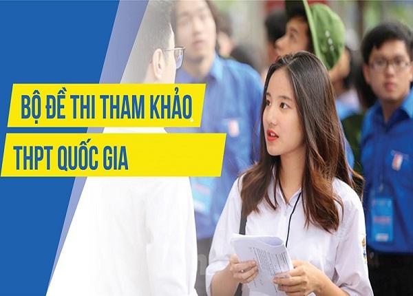 Bộ đề thi tham khảo THPT quốc gia năm 2019
