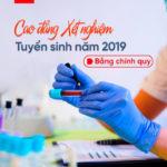 Tuyển sinh cao đẳng xét nghiệm Sài Gòn năm 2019 hệ chính quy