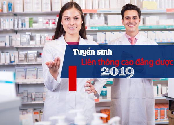 Liên thông cao đẳng dược tại Sài Gòn năm 2019