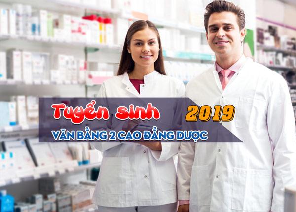 Đào tạo văn bằng 2 cao đẳng dược tại Sài Gòn năm 2019
