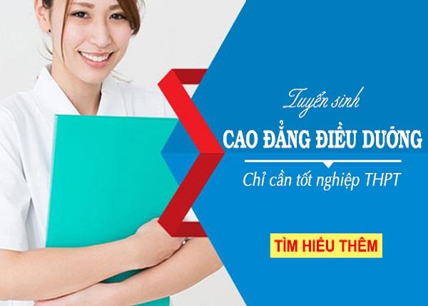 Điều kiện xét tuyển Cao đẳng Điều dưỡng Sài Gòn năm 2019 đơn giản