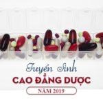 Dự kiến phương thức tuyển sinh Cao đẳng Dược Sài Gòn mới năm 2019