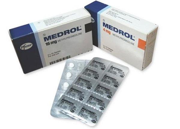 Medrol hàm lượng 4mg và 16mg