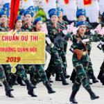 Tiêu chuẩn dự thi vào các trường quân đội năm 2019