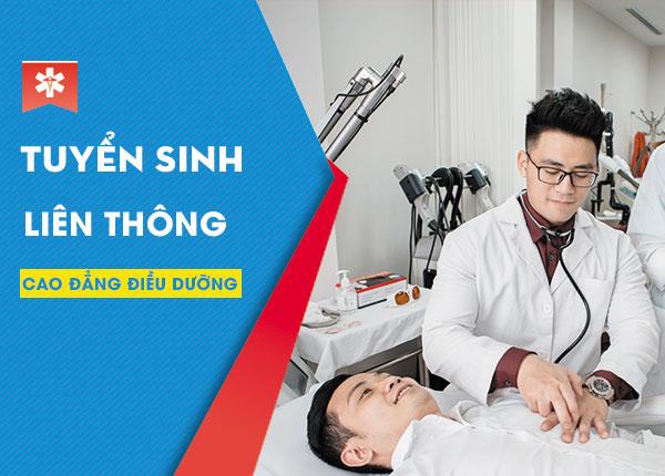 Tuyển sinh liên thông cao đẳng điều dưỡng tại Sài Gòn