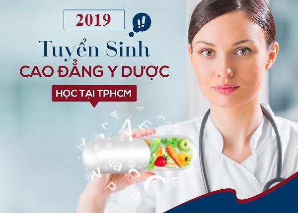 Tuyển sinh Cao đẳng Y Dược Sài Gòn năm 2019