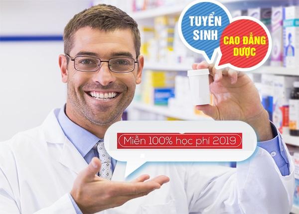 Cơ hội miễn 100% khi đăng ký học Cao đẳng Dược Sài Gòn năm 2019