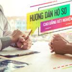 Hướng dẫn hồ sơ cao đẳng xét nghiệm Sài Gòn mới nhất