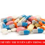 Chỉ tiêu Liên thông Cao đẳng Dược Sài Gòn năm 2019 là bao nhiêu?