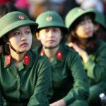 Có những trường quân đội nào tuyển nữ giới năm 2019?