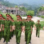 Thi vào trường công an: Sĩ quan,chiến sĩ công an có nhiều quyền lợi hơn thí sinh khác