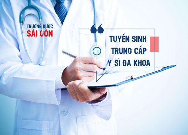 Đào tạo Trung cấp Y sĩ đa khoa tại TPHCM năm 2019