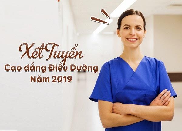 Bắt đầu xét tuyển cao đẳng điều dưỡng Sài Gòn năm 2019