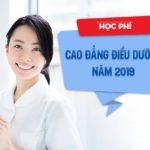 Học phí Cao đẳng Điều dưỡng Sài Gòn năm 2019 có cao hay không?