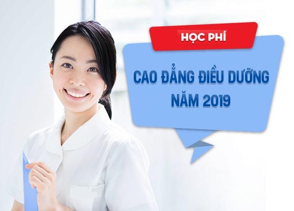 Cập nhật mức học phí Cao đẳng Điều dưỡng Sài Gòn năm 2019