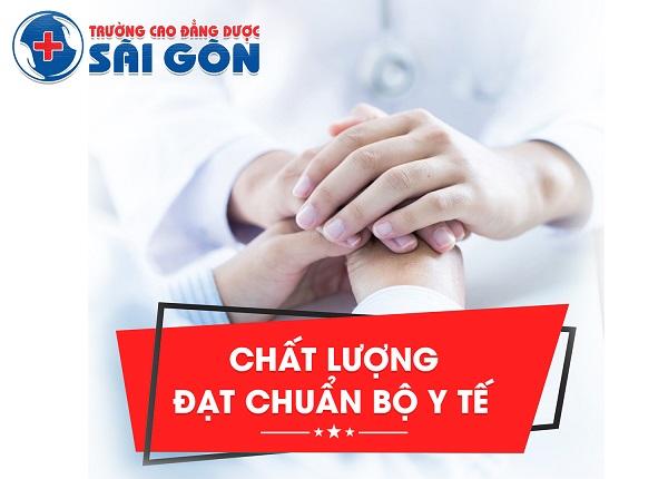 Trường Cao đẳng Dược Sài Gòn - chất lượng đào tạo hàng đầu