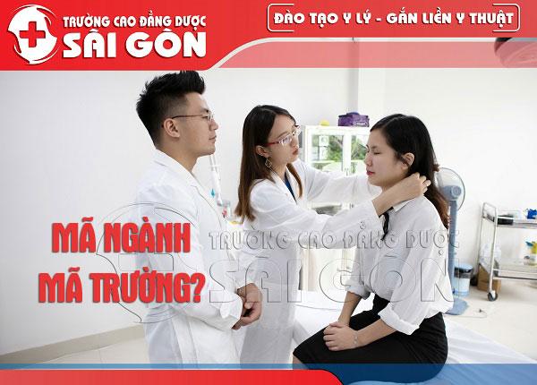Thông tin mã ngành mã trường Cao đẳng Dược Sài Gòn