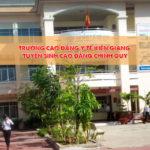 Trường cao đẳng Y tế Kiên Giang tuyển sinh năm 2019