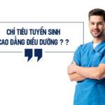 Chỉ tiêu tuyển sinh Cao đẳng Điều dưỡng Sài Gòn năm 2019