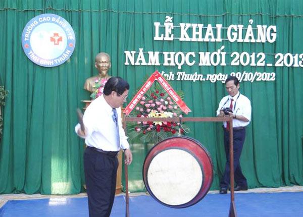 Thông tin tuyển sinh trường cao đẳng y tế Bình Thuận