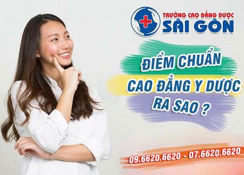 Mức điểm chuẩn Trường Cao đẳng Dược Sài Gòn