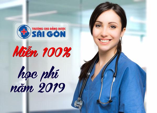 Miễn 100% học phí con em ruột cán bộ ngành y tế tại Việt Năm năm 2019