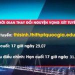 Thí sinh có 3 ngày để điều chỉnh Nguyện vọng Đại học 2019