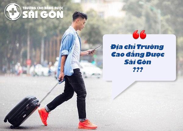 Địa chỉ Trường Cao đẳng Dược Sài Gòn ở quận nào?