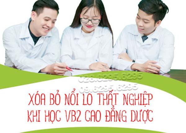 Tuyển sinh văn bằng 2 Cao đẳng Dược Sài Gòn năm 2020