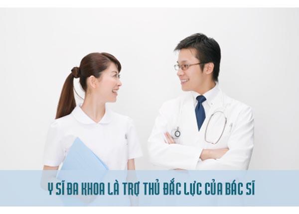 Chắc nghề nghiệp- vững tương lai sau khi tốt nghiệp y sĩ đa khoa