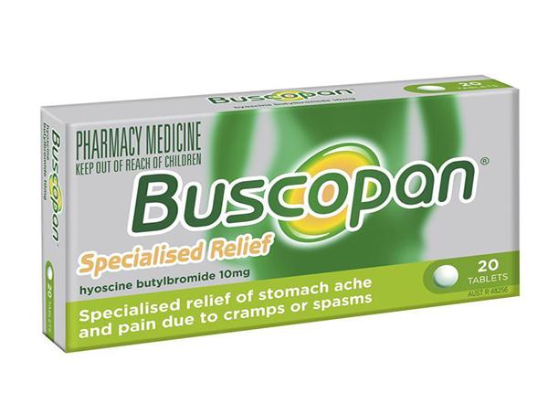 Thuốc Buscopan® và những lưu ý khi dùng thuốc để điều trị bệnh