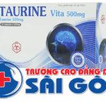 Hiểu rõ hơn về những tác dụng khi dùng thuốc Taurine