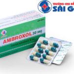 Thuốc Ambroxol có khả năng tương tác như thế nào?