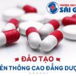 Chỉ tiêu liên thông Cao đẳng Dược Sài Gòn năm 2020 là bao nhiêu?